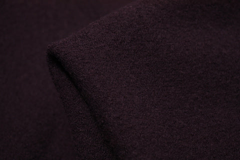 Plum Tepore - Boiled Wool