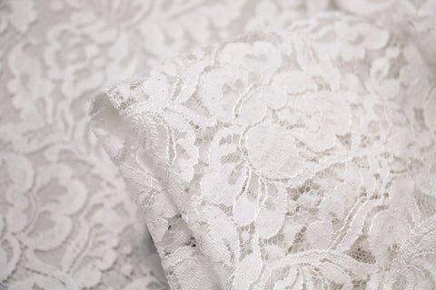 Cut Out Natural Lace