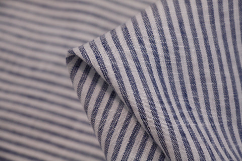 River Stripe Washed Linen