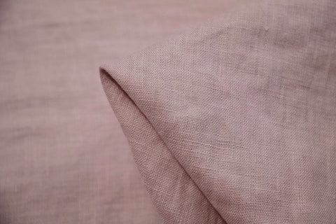 Dusty Pink Washed Linen