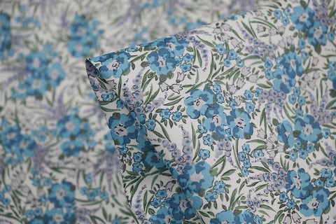 Swirling Petals Blue - Liberty Of London