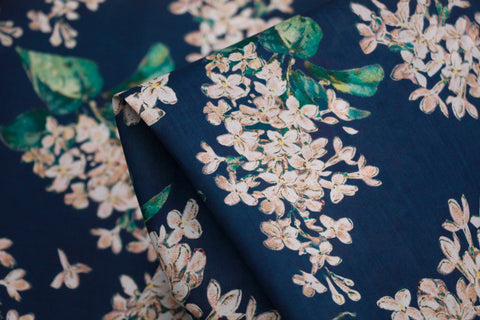Archive Lilac Navy -  Liberty Of London