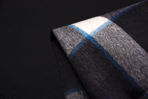 Blue Lined Check