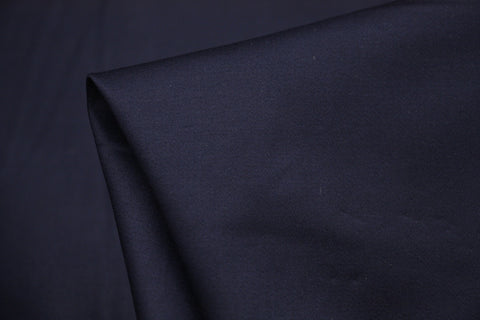 Stretch Cotton - Navy