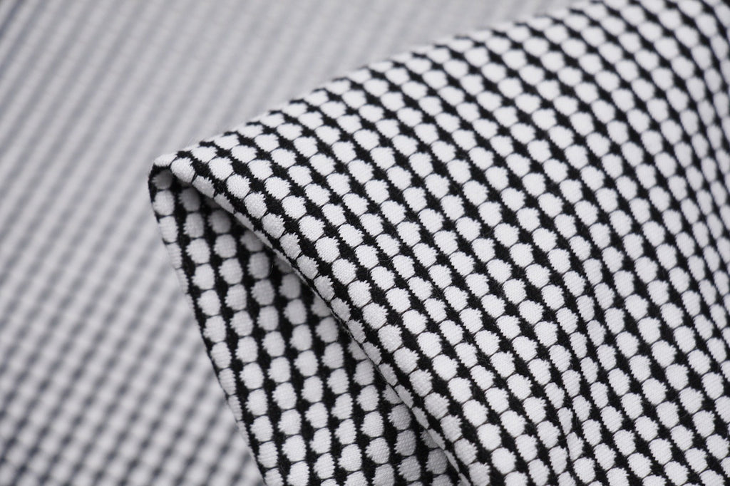 a7b9171d0f4 Black Grid On White - Sold Out - Tessuti Fabrics - Online Fabric Store -  Cotton, Linen, Silk, Bridal & more