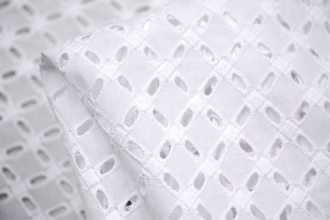 Lattice Anglaise - Broderie Anglaise