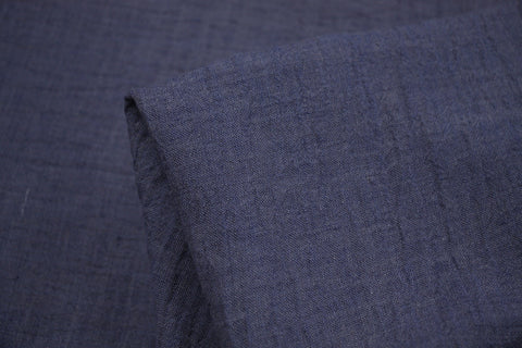 Denim Crush - Crinkle Linen