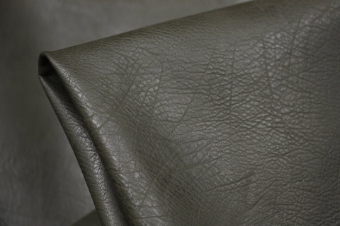 Pebbled Faux Leather Olive