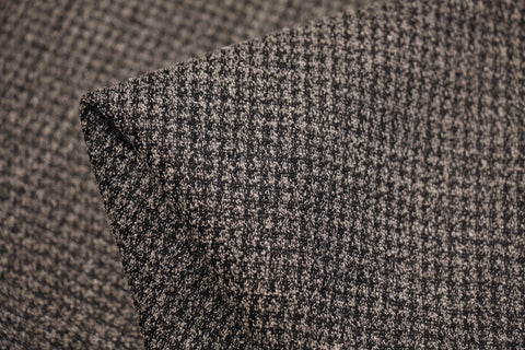 Checkerboard - Sand Jacquard Knit