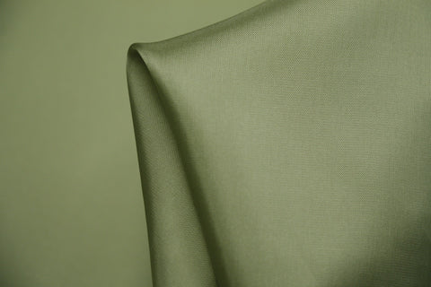 Avocado Green Rayon Lining