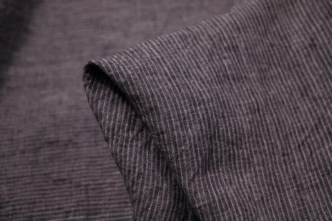 Grey Skyline Washed Linen