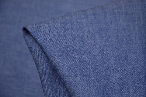 Washed Chambray Dark Blue