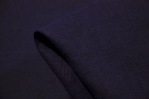 Phantom Blue Washed Linen
