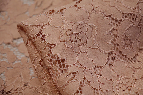 Dusty Architectural Lace - Panel