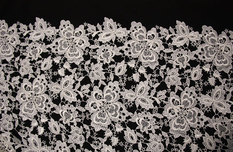 Ivory Giselle Guipure Lace