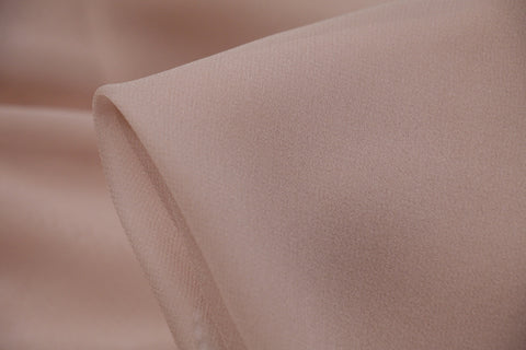 Dusty Pink Silk Georgette