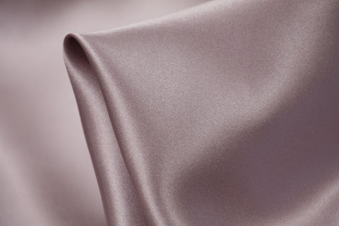 Rose Lilac Silk Satin