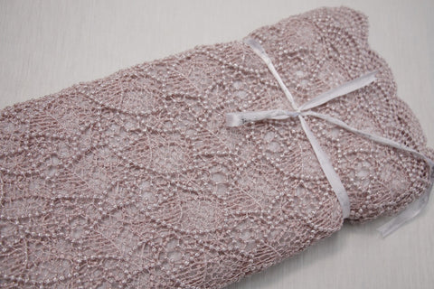 Pink Spot Guipure Lace
