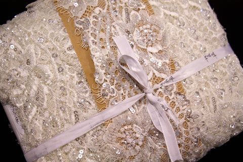 Chantell Natural Lace Trim