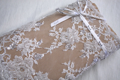 Tilly Beaded Lace Trim