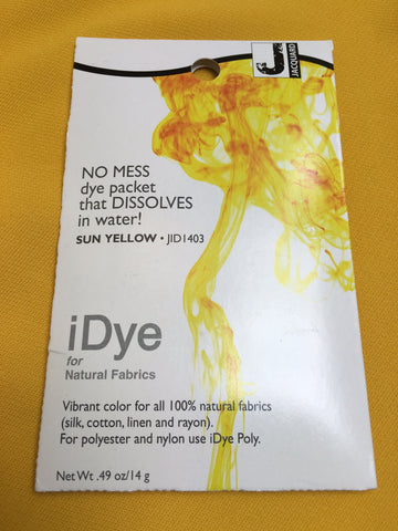 iDye for Natural Fabrics - Sun Yellow