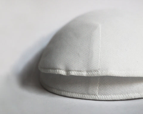 Rounded White Shoulder Pad
