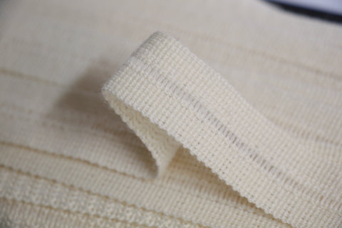22mm Wool Binding - Cream