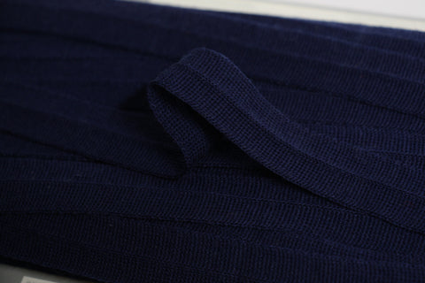 20mm Wool Binding - Navy