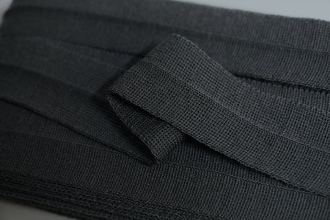 30mm Wool Binding - Dark Grey