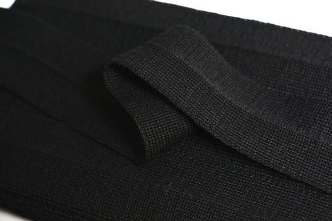 30mm Wool Binding - Black