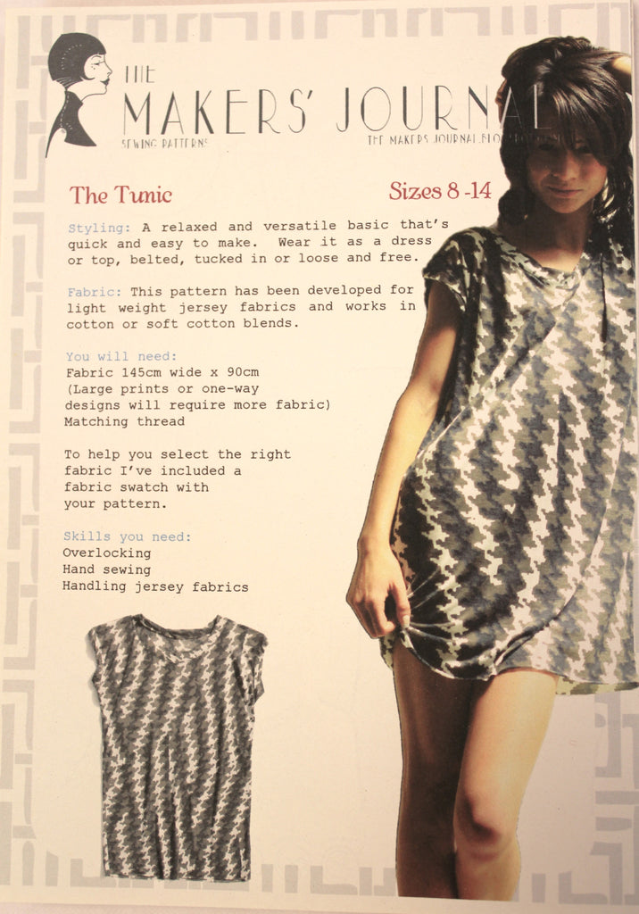The Tunic - Sold Out - Tessuti Fabrics - Online Fabric Store ...