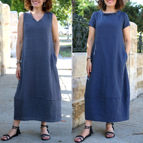 Iris Dress Pattern (Sizes XXS-XL)
