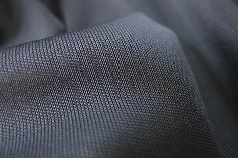 Charcoal Silk Jersey