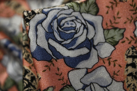 Steel Roses - Swimwear Fabric