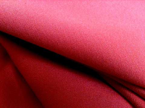 Red Crystalline - Ponti Knit