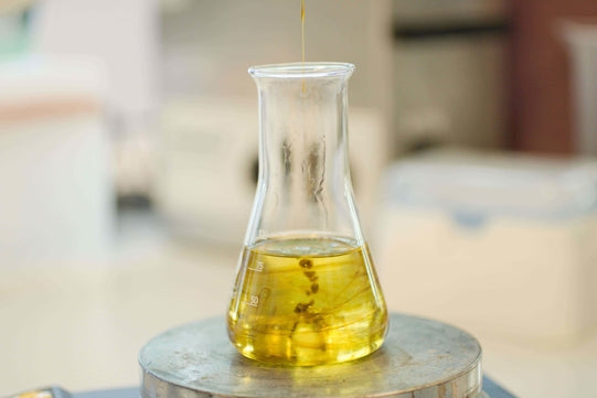 Mixing and Homogenization of CBD extract in MCT oil
