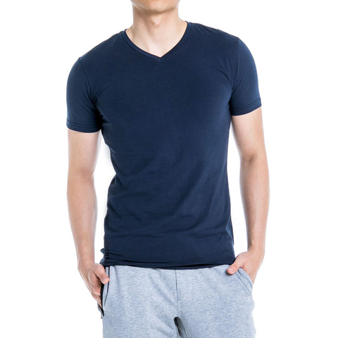 ALT. Essential V-Neck - Navy Blue