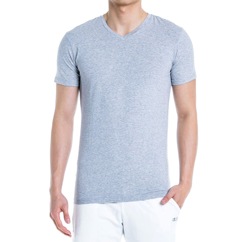ALT. Essential V-Neck - Silver Grey