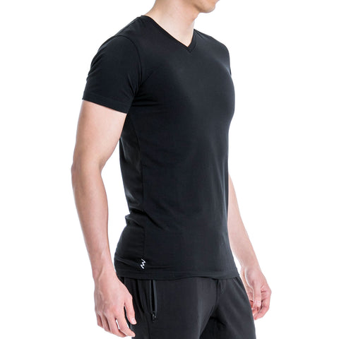 ALT. Essential V-Neck - Carbon Black