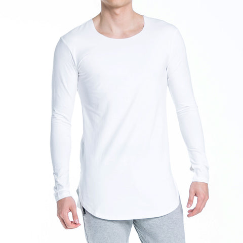 ALT. Tall Slim Tee LS - Ghost White