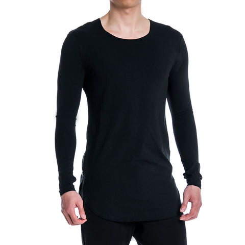 ALT. Tall Slim Tee LS - Carbon Black