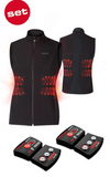 set of heat vest 1.0 woman + lithium pack
