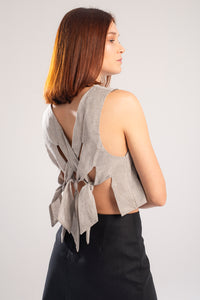 Knot top - Grey