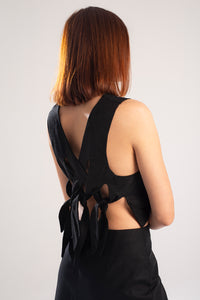 Knot top - Black