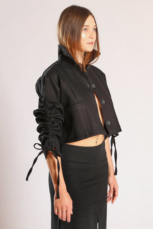 Cubo jacket - Black sarga