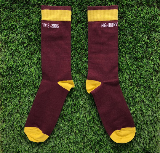 2bff7d274f4948 Arsenal 2005 (H) socks, by Throwback Football, £7.00