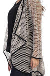 Fishnet Open Front Cardigan - Rose + Canvas®