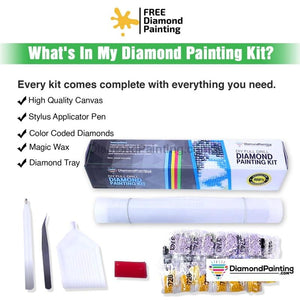 Amazing Horse Art DIY Diamond Painting Kit Free Diamond Painting