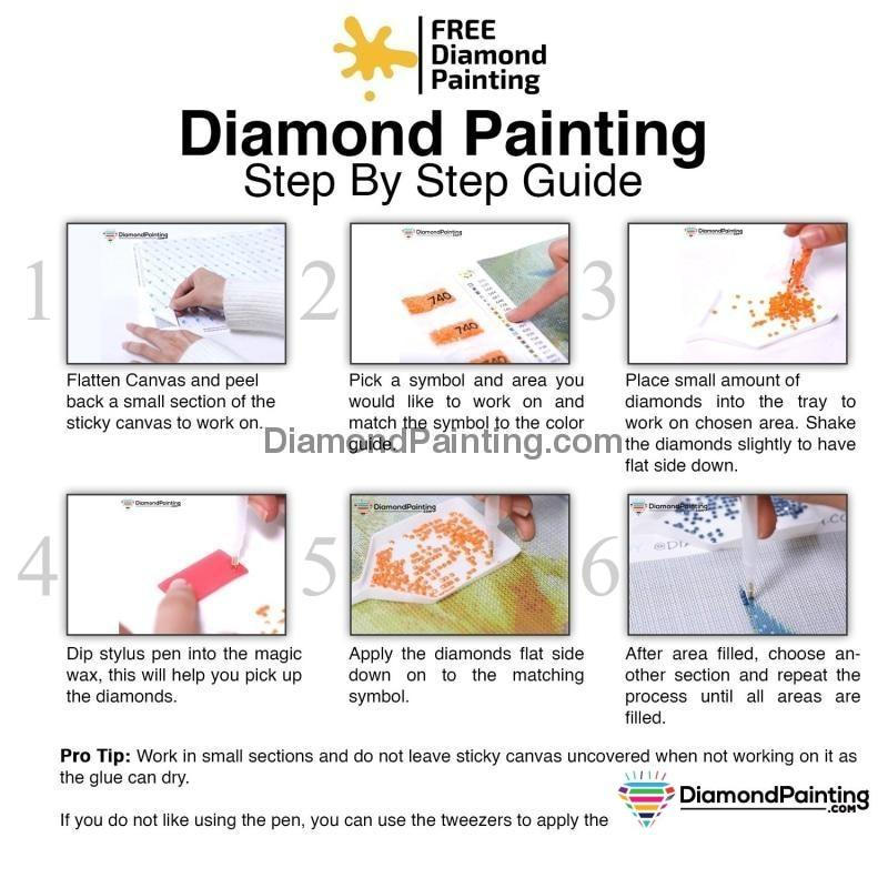 Angel of Light Diamond Painting Kit Free Diamond Painting