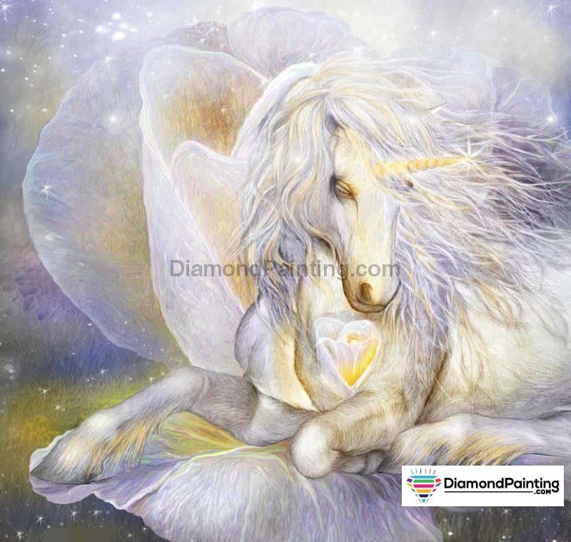 Beautiful Unicorn 5D Diamond Art Kit 50X50Cm